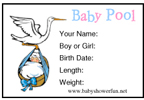 free printable baby pool entry form